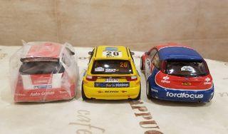 Citroen C2 S 1600, Ibiza Kit-car y Ford Focus RS
