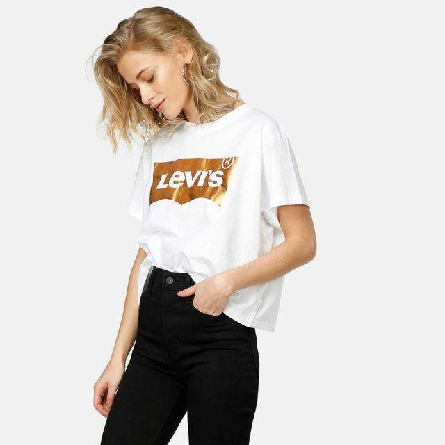Camiseta mujer Levis.