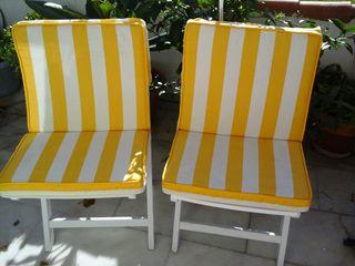 sillas de jardín
