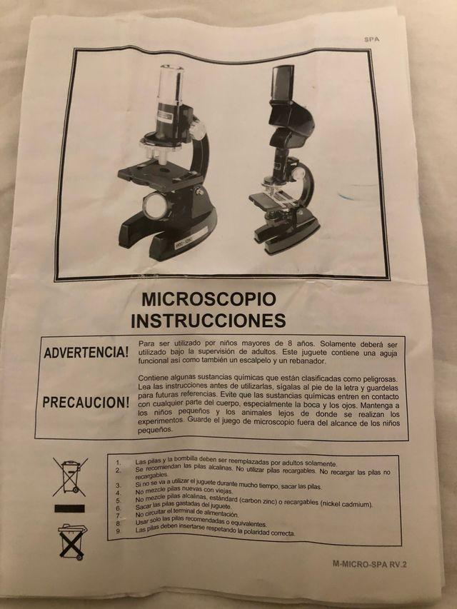 Kit Microscopio y accesorios