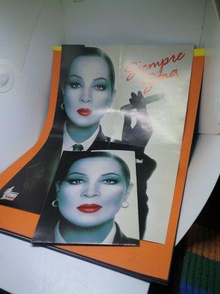 Lote de 3 posters antología Sara Montiel