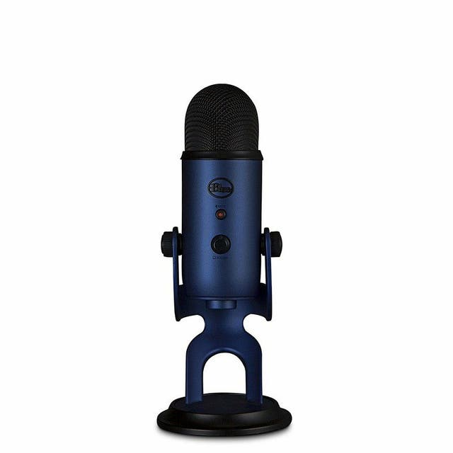 Micrófono Blue Yeti azul
