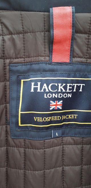 HACKETT LONDON PARKA COLOR AZUL MARINO TALLA L