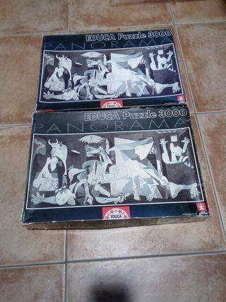 puzzle guernica educa 3000