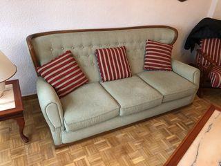 Sofá de 3 plaza y 2 sillones alta calidad 150€