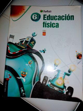 Libro Educación Física 6º Primaria