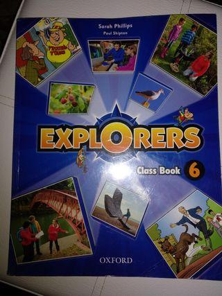 Libro Inglés Class Book 6º Primaria