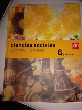 Libro Ciencias Sociales 6º Primaria