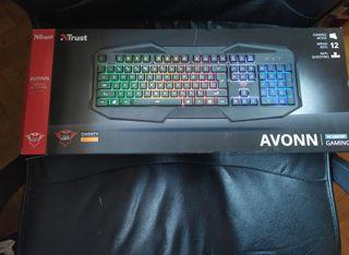 teclado gaming trust