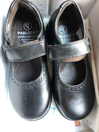 Zapatos PABLOSKY niña colegio talla 27
