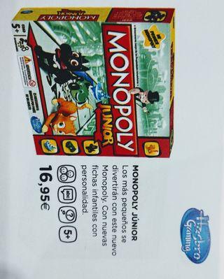 juguete monopoli junior