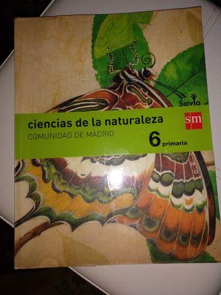 Libro Ciencias de la Naturaleza 6º Primaria
