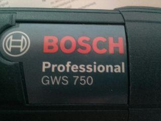 Amoladora radial Profesional BOSCH GWS 750w-125 mm