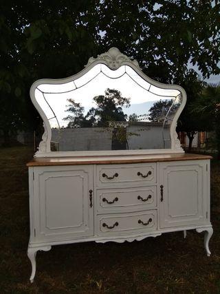 mueble aparador antiguo restaurado
