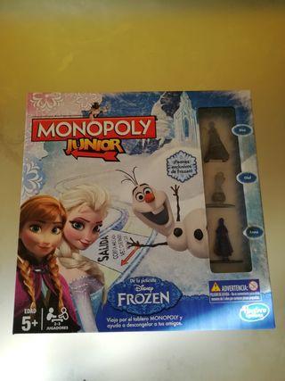 monopoly junior de frozen