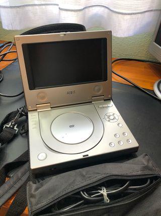 Reproductor portátil DVD Airis