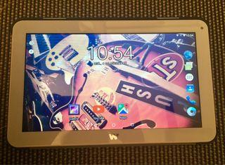 Tablet Woxter i-101 con cargador y funda original