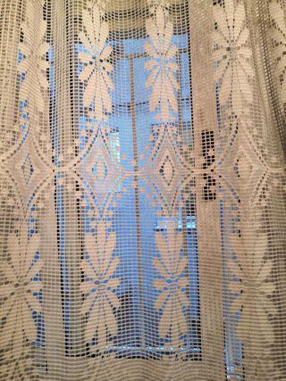Bonita cortina vintaje