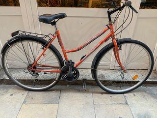 Bicicleta de ciudad paseo