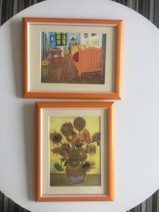 Mini cuadros Van Gogh
