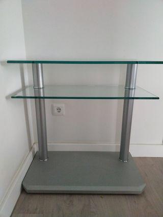 Mesa de cristal para TV