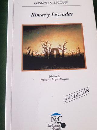Rimas y leyendas Gustavo Adolfo Bécquer