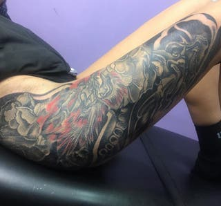 TATUAJES--Tatuador profesional Estudio en Madrid