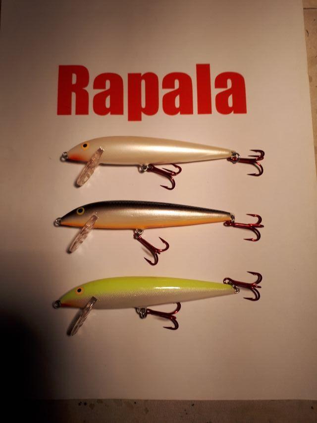 3 Rapalas señuelo artificial pesca