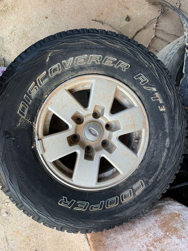 "Llantas 15"" Ford Ranger"