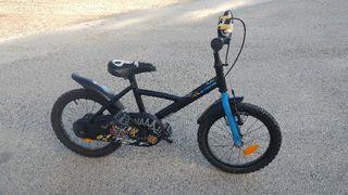 bicicleta infantil niño 16 pulgadas btwin bici
