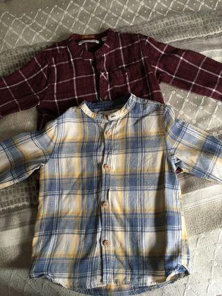 Lote de dos camisas de bebé