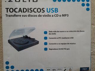 Tocadiscos USB Grabador Zolid