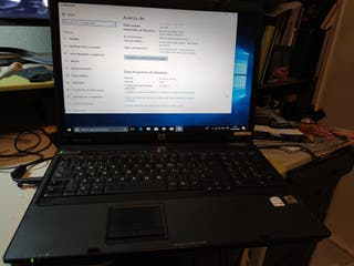 """portatil 17 """" HP Compaq con SSD"""