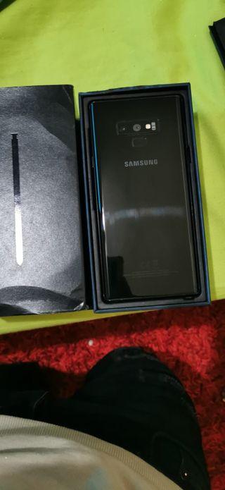 Samsung Galaxy note 9 128Gb libre negro