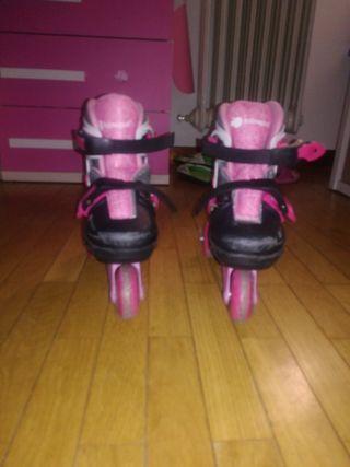 patines niña, talla 30-33