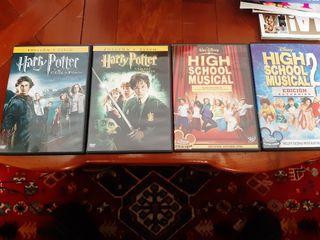 harry potter y high school musical