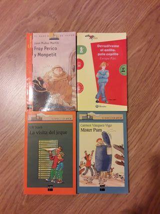 Libros infantiles e juveniles