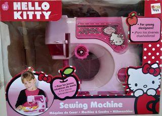 """Máquina de coser de juguete """"hello kitty""""."""