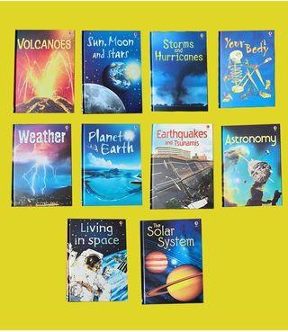 10 libros de ciencia en inglés