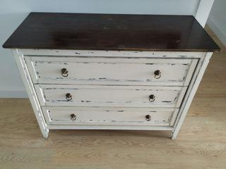 mueble aparador recibidor estilo vintage