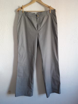 Pantalón gris Guess t 31' corte recto