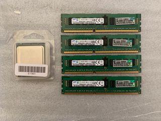 Pack procesador Intel Xeon + memoria ram
