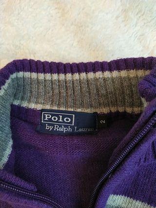 Jersey Polo by Ralph Lauren niño talla 2