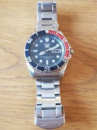 Reloj Seiko automático modelo MOD7536-03CD
