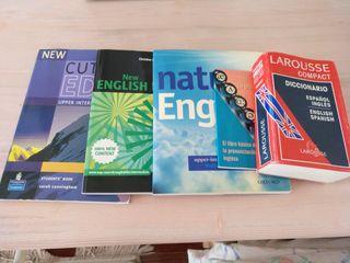 Libros de Inglés y diccionario