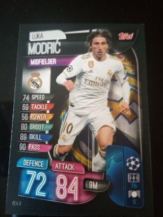 Luka Modric R.Madrid topps