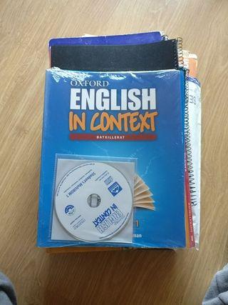Llibre Primer Batxillerat English