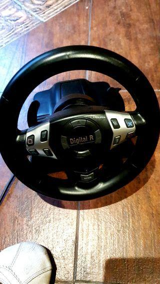 volante PS3 y PS2