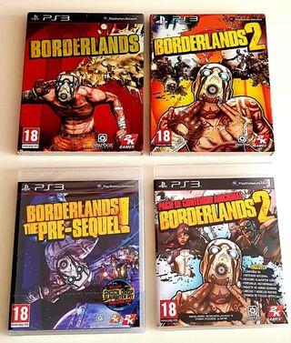Colección Borderlands - Ps3