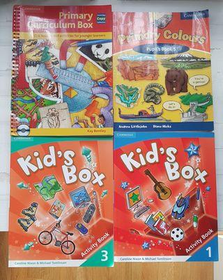 Lote de 4 libros inglés para niños
